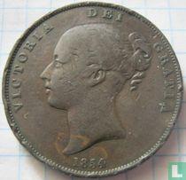 Verenigd Koninkrijk 1 penny 1854 (dubbele punt ver van DEF)