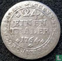 Brunswijk-Wolfenbüttel 1/24 thaler 1764