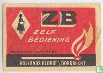ZB zelfbediening Hollands Glore