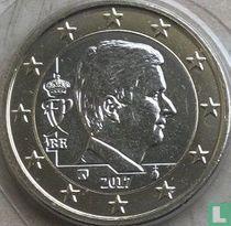 Belgium 1 euro 2017