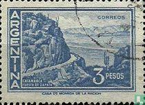 Bergweg Zapata