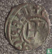Cilicia, Armenia  AE20 kardez (on throne)  1289-1305