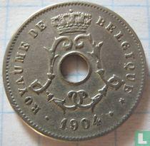 België 5 centimes 1904 (FRA)