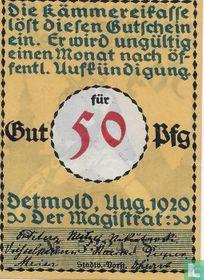 Detmold 50 Pfennig 1920 (2b)