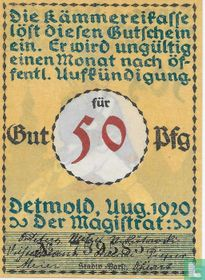 Detmold 50 Pfennig 1920 (3a)