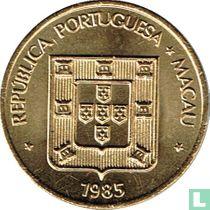 Macau 10 avos 1985