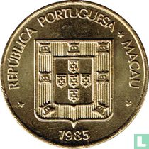 Macau 50 avos 1985