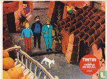 Tintin et le Temple du Soleil Kuifje en Haddock op onderzoek
