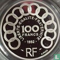 """Frankrijk 100 francs / 15 écus 1992 (PROOF) """"Jean Monnet"""""""