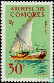 Traditioneel zeilschip