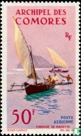 Prauw uit Mayotte