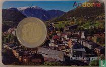 Andorra 2 euro 2015 (coincard)