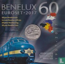 "Benelux mint set 2017 ""60 years Benelux train"""