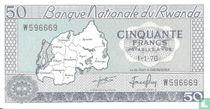 Rwanda 50 Francs 1976