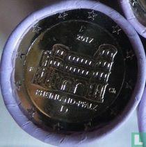 """Duitsland 2 euro 2017 (F - rol) """"Rheinland - Pfalz"""""""