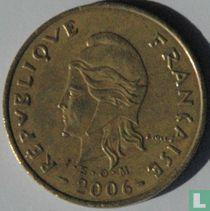 Frans-Polynesië 100 francs 2006