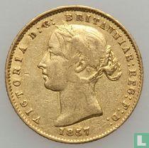 Australia ½ sovereign 1857