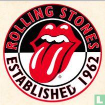 Rolling Stones: sticker Established 1962