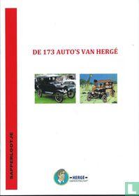 de 173 auto's van Hergé