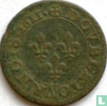 France double tournois 1611 (A)