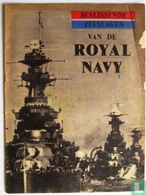 Beslissende zeeslagen van de Royal Navy