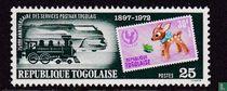 75 Année timbres au Togo acheter