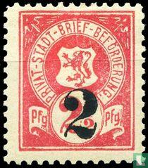 Lion in Shield (print)