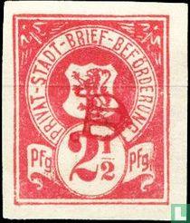 Lion in Shield (print monogram)