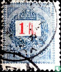 Brief, Krone und Posthorn