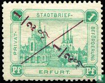 Erfurt Dom (met opdruk)