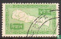 Kaart van Nepal4