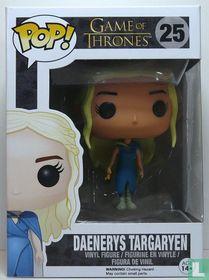 Daenerys Targaryen in Blue Gown