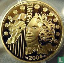 "Frankrijk 10 euro 2004 (PROOF) ""European Union Enlargment"""
