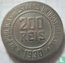 Brasilien 200 Réis 1930