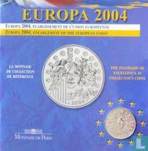 """Frankrijk ¼ euro 2004 (folder) """"European Union Enlargment"""""""