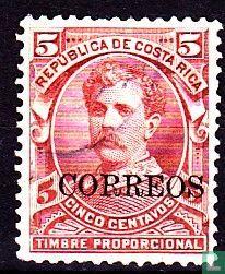 Ramon Soto Alfaro Bernardo mit Druck Correos
