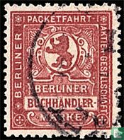 Berlijnse pakjesdienst Aktien Gesellschaft / Berliner Buchhändlermarke