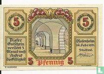 Rosenheim 5 Pfennig