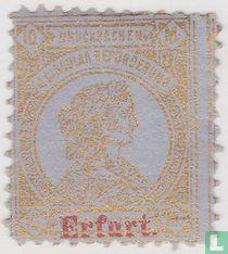 Frankofurtia, met opdruk Erfurt