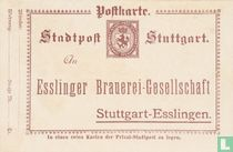 Stadtwappen + Stuttgart Esslinger Brauerei-Gesellschaft