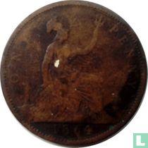 Verenigd koninkrijk 1 penny 1864
