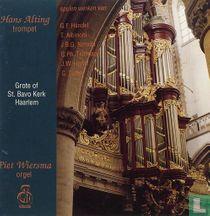 Spelen werken van Händel, Albinoni, Neruda, Hertel, Telemann en Tartini