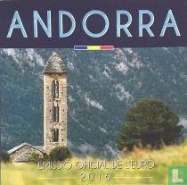 """Andorra mint set 2016 """"Govern d'Andorra"""""""