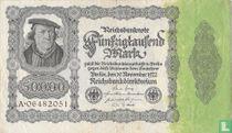 Duitsland 50.000 Mark (Ros.79a)