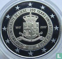 "Belgium 2 euro 2017 (PROOF) ""200 years University of Liege"""