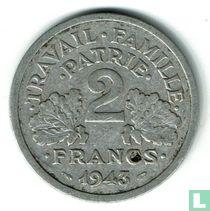 Frankreich 2 Franc 1943 (ohne B)