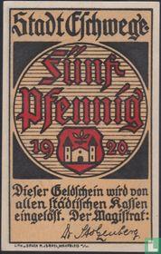 Eschwege 5 Pfennig 1920