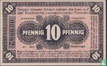 Neuhaldensleben 10 Pfennig 1919