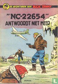 """""""NC-22654"""" antwoordt niet meer"""