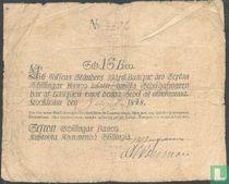 Schweden 16 Skilling Banco 1848